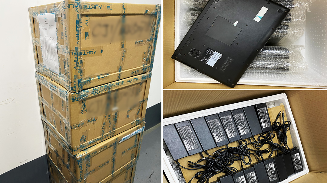 Guangzhou Wholesale Second-hand Notebook Transport Packaging Standards